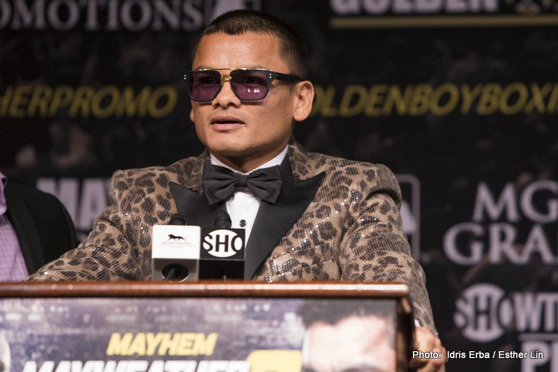 Marcos Maidana - Since earning a pair of career high paydays in back-to-back world title challenges to Floyd Mayweather, Marcos Maidana has been relaxing and enjoying the good life back home in Argentina with no serious signs of return, although according his to manager, Sebastian Contursi, 'Chino' will indeed be back in action sometime in the early part of 2016.