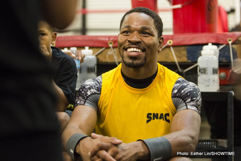 Shawn Porter would like to fight Danny Garcia if the Thurman fight doesn't happen by May or June
