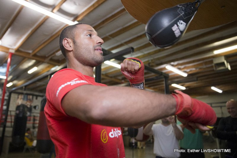 Kell Brook better than Naseem Hamed? The welterweight champ's trainer Ingle says yes