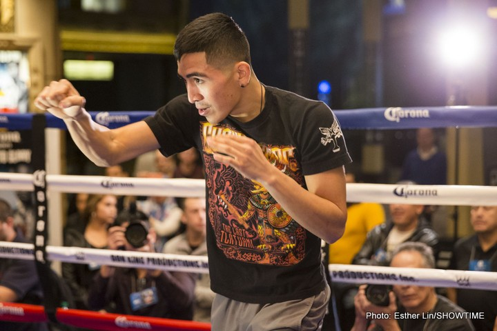 Leo Santa Cruz Boxing News