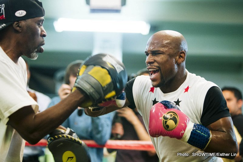 Floyd Mayweather Media Day Photos and Quotes
