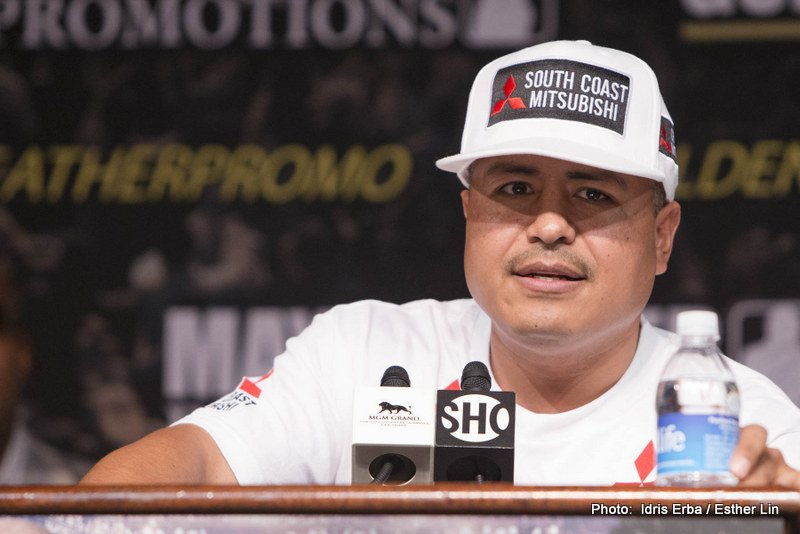 Robert Garcia : Unhappy With Brook v Rios – 'They Think They're Mayweather'