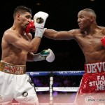 "Amir Khan, Kell Brook - IBF welterweight champion Kell Brook's promoters at Matchroom Sport are hoping to put together a fight between Brook and former IBF/WBA light welterweight champion Amir Khan (31-3, 19 KOs) in the summer on June 4th at Wembley Stadium, in London, England. The chances for the Khan vs. Brook fight increased dramatically this past week with 37-year-old Manny Pacquiao agreeing to fight WBO welterweight champ Tim ""Desert Storm"" Bradley on April 9."