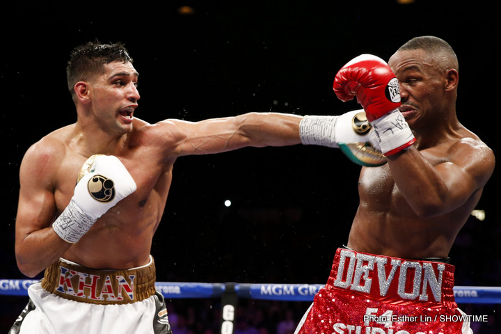 Mayweather Wants Me To Look Bad Against Algieri Says Khan
