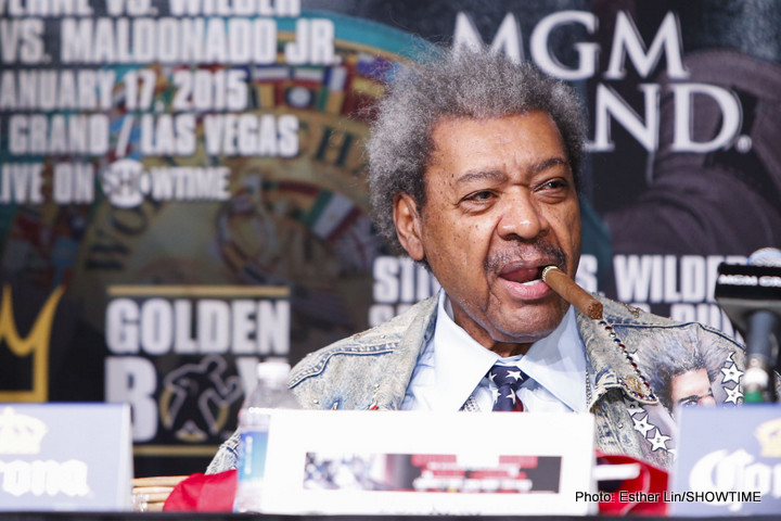 "Don King has great plans: to bring us ""Rumble in The Jungle II"" in honour of Muhammad Ali"
