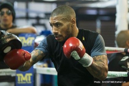 Ashley Theophane British Boxing Press Room