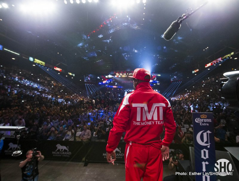 Mayweather Promotions and Matchroom plan to join forces, co-promote shows in UK