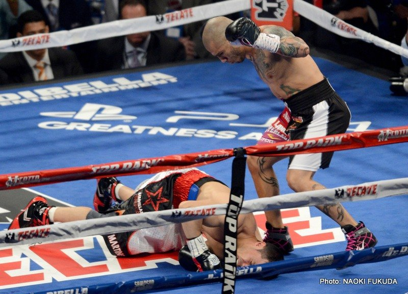 Cotto vs. Martinez, Miguel Cotto, Sergio Martinez - Boxing News