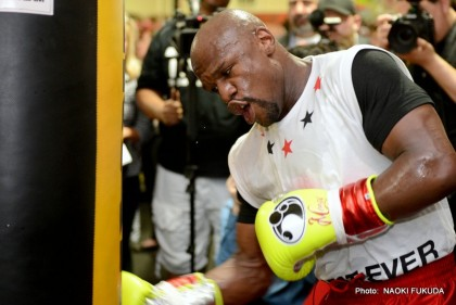 Floyd Mayweather Jr Mayweather vs. Maidana Boxing Interviews Boxing News
