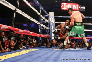 """Rogelio Medina -  Hard-hitting super middleweight Rogelio """"Porky"""" Medina (33-6, 27 KOs), of Hermosillo, Sonora, Mexico, registered one of the upsets of the year, knocking out previously unbeaten, world-ranked J'Leon Love (18-1, 10 KOs), of Inkster, Mich., in the third round of a Special Saturday presentation of ShoBox: The New Generation live on SHOWTIME."""