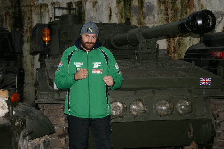 Fury vs. Chisora II - Pitt tops the box-office in the UK with his hit movie Fury about an army sergeant in World War Two who commands a tank with a five-man crew in Nazi Germany.