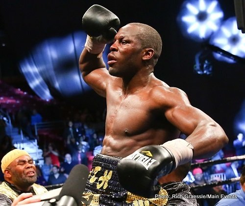 Steve Cunningham back in action on Oct. 18 in Philly