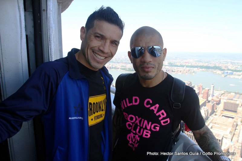 Cotto vs. Martinez: Will Sergio punch his ticket to Canastota with a win over Miguel Cotto?