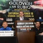 Gennady Golovkin Golovkin vs. Rubio Nonito Donaire Press Room
