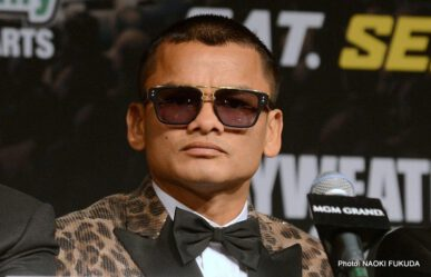 Floyd Mayweather Jr, Marcos Maidana, Mayweather vs. Maidana 2 - Defying logic, following no formula, and enthralling all that watched; the first fight between Floyd Mayweather and Marcos Maidana was a tribute to the very essence of sport itself.