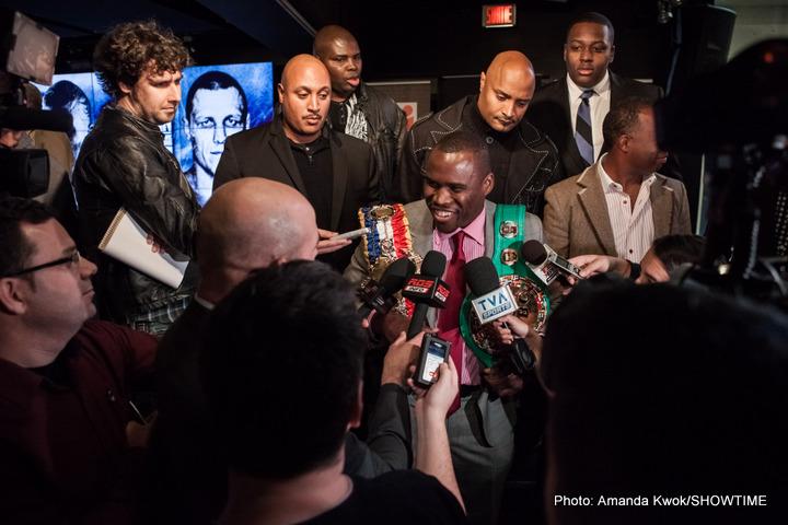 Adonis Stevenson Artur Beterbiev Sakio Bika Boxing Interviews