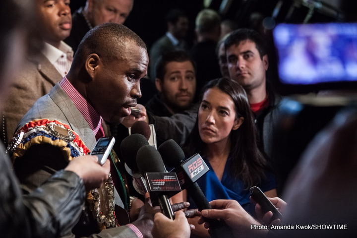 Adonis Stevenson fights Tommy Karpency, Sept 11th in Toronto