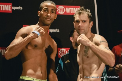 Barthelemy vs. Saucedo Final Weights, Quotes For Saturday's SHOWTIME Tripleheader