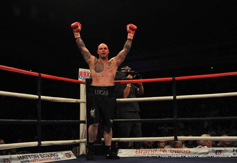 Lucas Browne, Ruslan Chagaev - In a surprisingly entertaining heavyweight battle, Australian slugger Lucas Browne scored a big upset win in stopping defending WBA champ Ruslan Chagaev in the 10th-round in Grozny, Russia. Browne, who had been wobbled in the 5th and heavily decked himself in the 6th, came back to pull out a right hand from nowhere which dropped the durable if aging Chagaev in round-ten.