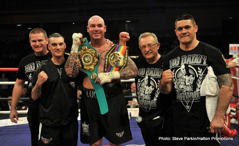 Lucas Browne: A Message For Fury / Echoes Frustrations At Inactivity