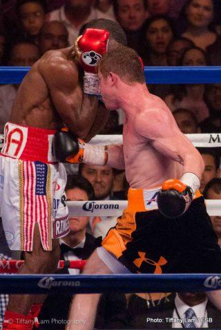 "Canelo vs. Lara Erislandy Lara Saul ""Canelo"" Alvarez Boxing News Boxing Results"