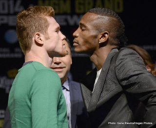 Erislandy Lara - When Alvarez lost to Mayweather, they brought him back against Alfredo Angulo, a confidence booster. The type of fight that Canelo and his handlers would have hand picked while listening to the TLC song, don't go chasing water falls.