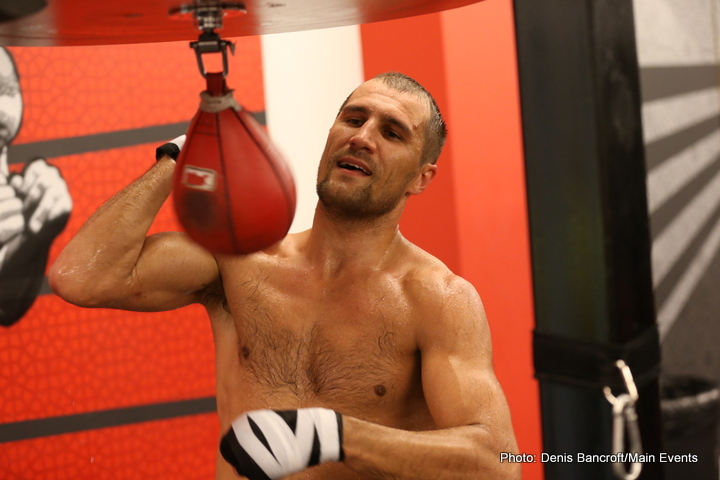"Sergey ""Krusher"" Kovalev opened up his camp to the media today in preparation for his Nov. 8 light heavyweight unification bout with Bernard ""The Alien"" Hopkins at Boardwalk Hall in Atlantic City, NJ and live on HBO World Championship Boxing®."