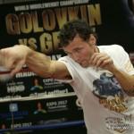 Bryant Jennings Daniel Geale Gennady Golovkin Golovkin vs. Geale Jennings vs. Perez Mike Perez Press Room