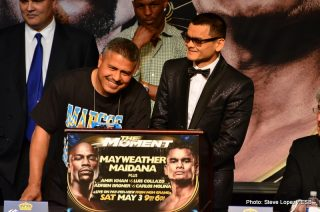 Floyd Mayweather Jr Marcos Maidana Mayweather vs. Maidana Boxing News Top Stories Boxing
