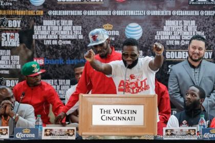 Adrien Broner Broner vs. Taylor Emmanuel Taylor Boxing News