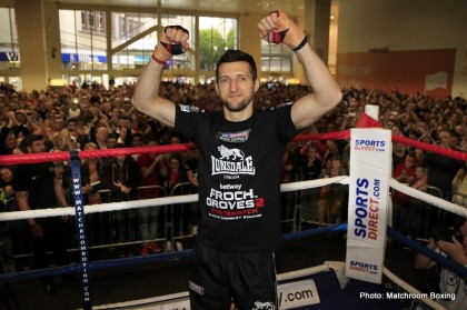 Carl Froch Boxing News British Boxing