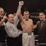 Chad Dawson Dawson vs. Karpency Martirosyan vs. Nelson Tommy Karpency Vanes Martirosyan Willie Nelson Boxing News Boxing Results