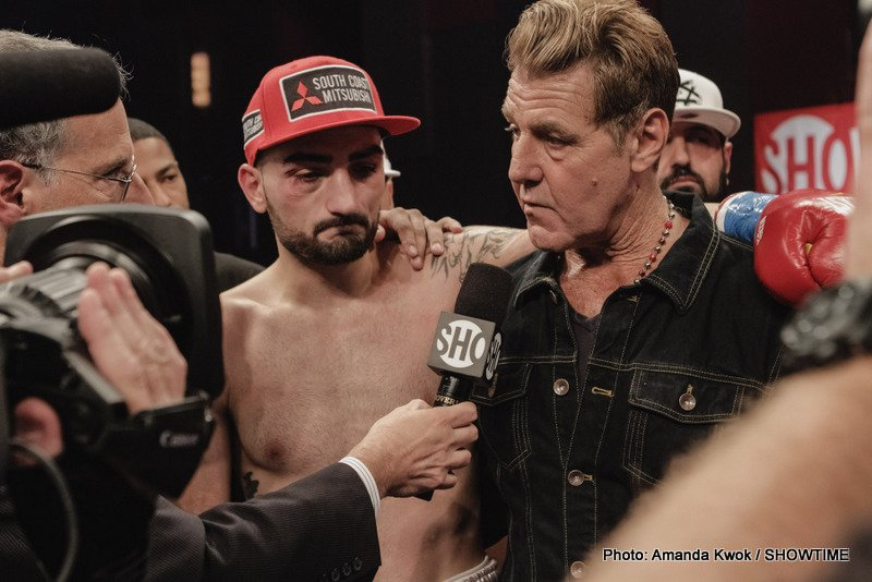 """Vanes Martirosyan - World ranked junior middleweight contender VANES """"The Nightmare"""" MARTIROSYAN entered the top echelon of his division on Saturday night with an outstanding 10-round unanimous decision over fellow contender WILLIE NELSON from the Foxwoods Resort Casino and telecast live on SHOWTIME."""