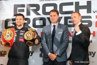 George Groves - Below are quotes from today's Froch vs. Groves II Final press conference in London. Froch vs. Groves II happens Saturday, May 31 live on HBO beginning at 4:00 p.m. ET/PT.