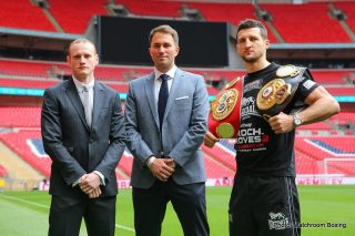 Carl Froch, Froch vs. Groves 2, George Groves - Two noble men battle in the modern day coliseum of Wembley Stadium for historic supremacy. The reigning King Carl Froch from Nottingham earned his kingship at war, with the blood running through his body from a long line of warriors representing proudly out of the house of Froch.