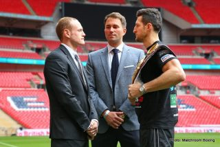George Groves - The most anticipated fight in British boxing in decades is upon us. On Saturday at Wembley Stadium in London, Carl Froch and George Groves will climb into the ring in front of 80,000 spectators, with millions watching on television not only in Britain but around the world.