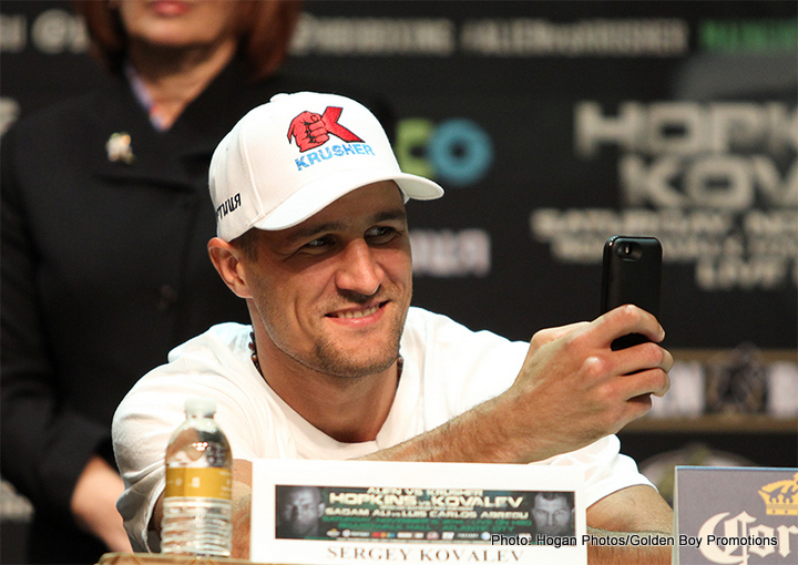 Sergey Kovalev Does The Job And Gives Good Advice