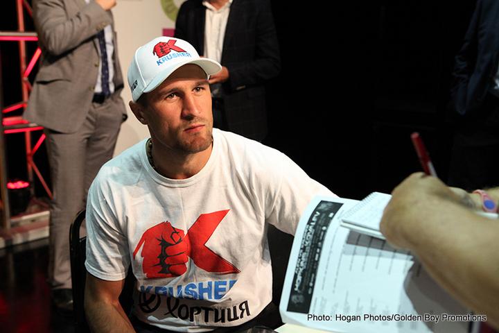 Sergey Kovalev v Artur Beterbiev Is a No-Go
