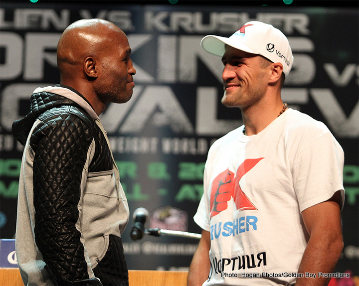 Hopkins vs. Kovalev Final Press Quotes