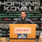 Bernard Hopkins Hopkins vs. Kovalev Sergey Kovalev Press Room