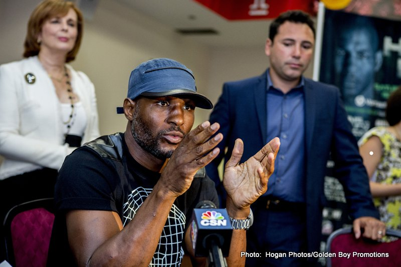 Bernard Hopkins Interview Transcript
