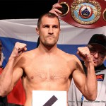 """Sergey Kovalev -  Main Events and InterBox are proud to announce that an agreement has been reached to present a fight between the reigning unified WBO, IBF and WBA Light Heavyweight World Champion, Sergey """"Krusher"""" Kovalev (26-0-1, 23 KOs) and former WBC and The Ring Light Heavyweight Champion, Jean Pascal (29-2-1, 17 KOs). The fight is to take place in Montréal or Québec City on Saturday, March 14, 2015, but it is contingent on Pascal prevailing over Bolonti on December 6 and on the IBF granting Kovalev a special exception to postpone his mandatory title defense against Nadjib Mohammedi."""