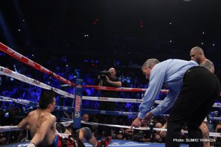 """Cotto vs. Martinez, Miguel Cotto, Sergio Martinez - This was a bright sunshiny day for boxing and the bout brought memories of the golden days of boxing – a sold out Garden, two gladiators without any """"0s"""" to protect and seemingly free of corporate clog and Swiss bank restraint jackets."""