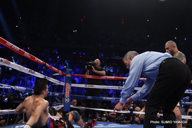 Miguel Cotto dethrones Sergio Martinez by RTD 10 – a state of the art assault and battery