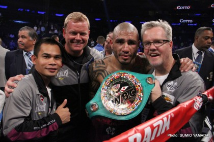 Cotto vs. Martinez Miguel Cotto Sergio Martinez Boxing News Boxing Results Top Stories Boxing