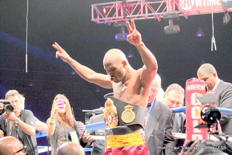 """The Pugilist KOrner"": ""Bernard Hopkins vs. Beibut Shumenov"""