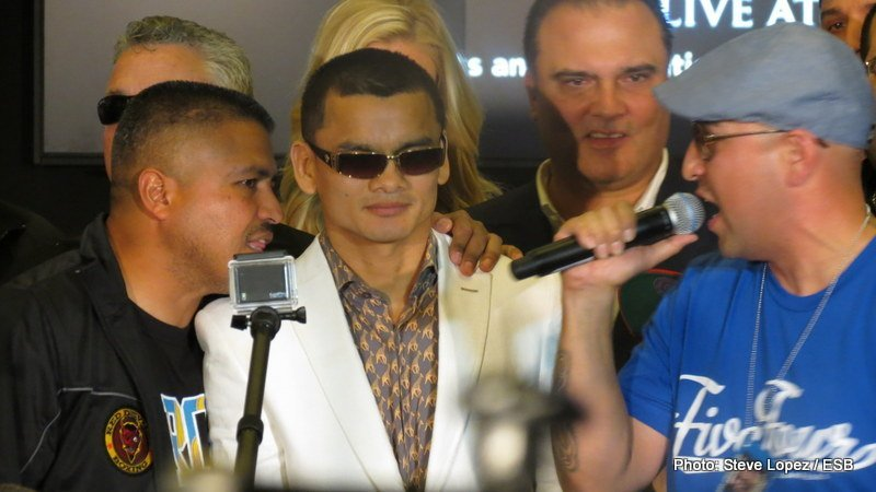 "Marcos Maidana: ""I think I can knock him out, but I also think I can beat him by decision"""