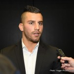 David Lemieux - Boxing fans the world over were rejoicing last night at the news big hitting middleweights Gennady Golovkin and David Lemieux are set to face off in a huge unification showdown, live on HBO PPV on October 17th at the legendary Mecca of boxing, Madison Square Garden.