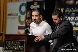 Floyd Mayweather Jr Marcos Maidana Mayweather vs. Maidana 2 Press Room