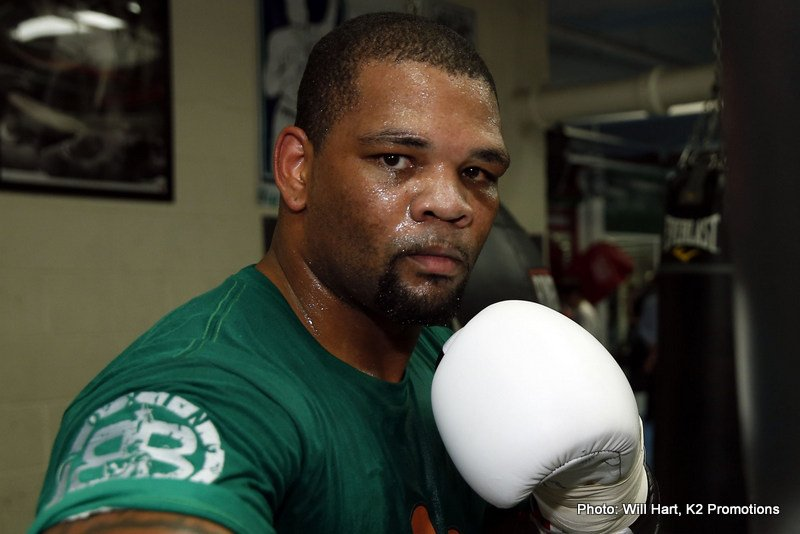 """Mike Perez - Irish-based former heavyweight contender Mike Perez is raring to go tomorrow night, when he will box his cruiserweight debut. Tipping in at a ripped and ready 198-pounds – an incredibly low poundage when we recall how, as a heavyweight, """"The Rebel"""" fought well into the 240s – Perez, 21-2-1(13) will box for the first time since his unexpectedly quick (1st round) stoppage loss to Alexander Povetkin in May of 2015."""